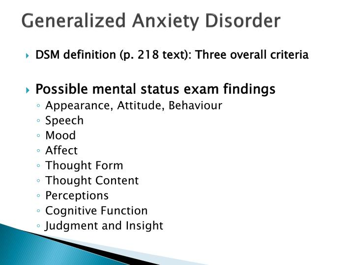 generalized anxiety disorder dsm - 720×540
