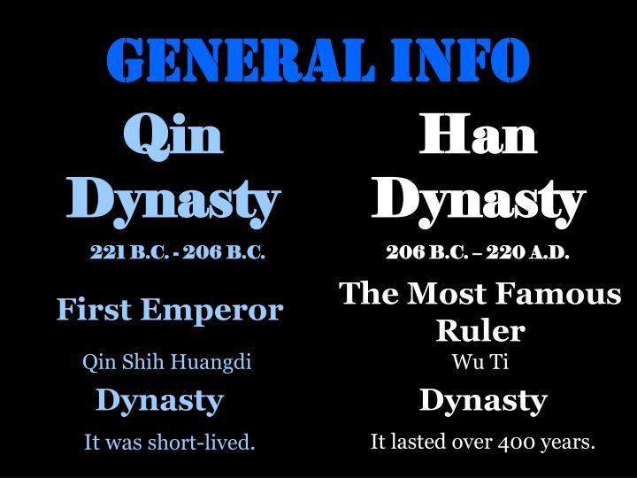 General info