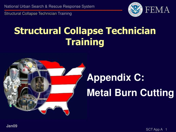 structural collapse technician training n.
