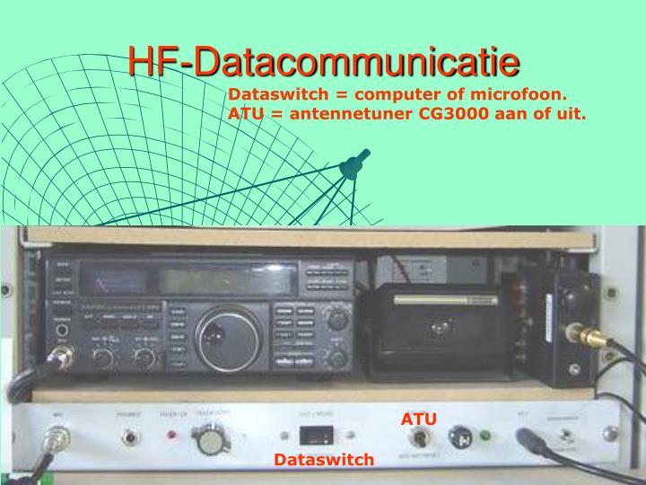 HF-Datacommunicatie