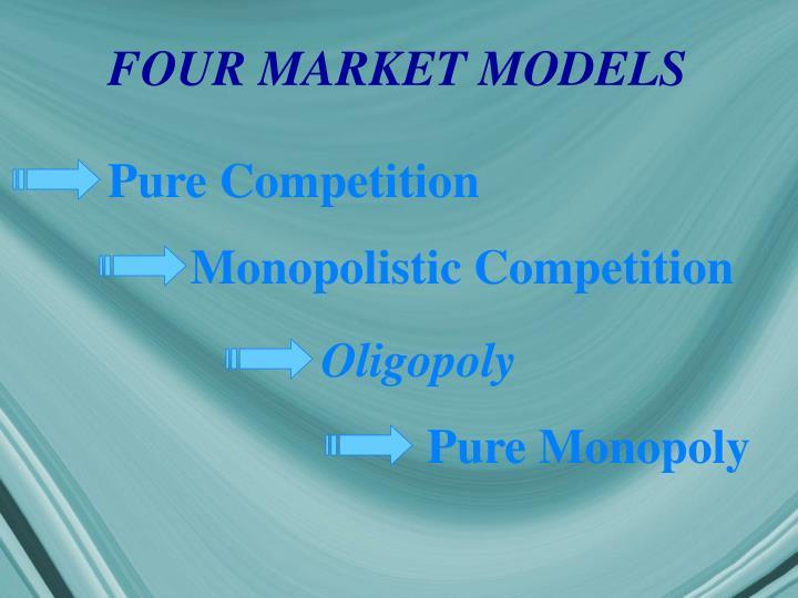 FOUR MARKET MODELS