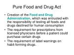 pure food and drug act1