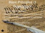 basic principles of government1