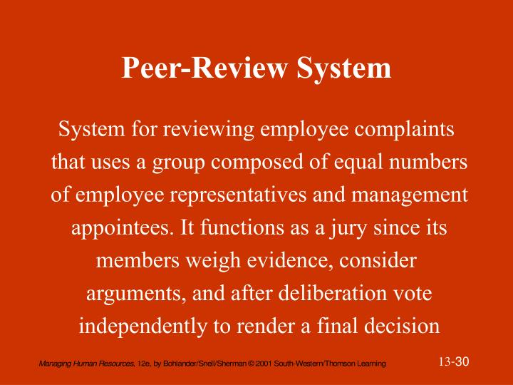 Peer-Review System