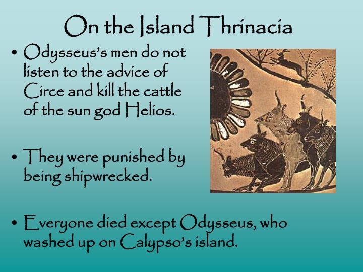 On the Island Thrinacia