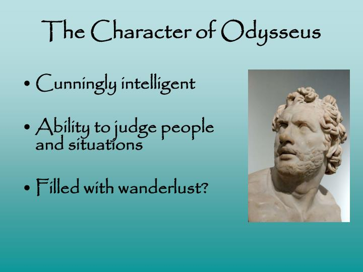 The Character of Odysseus