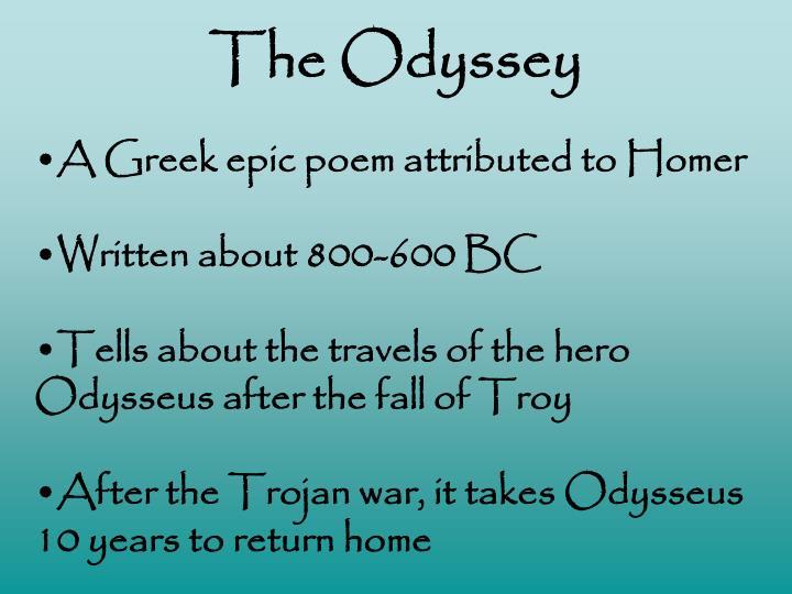 The odyssey1