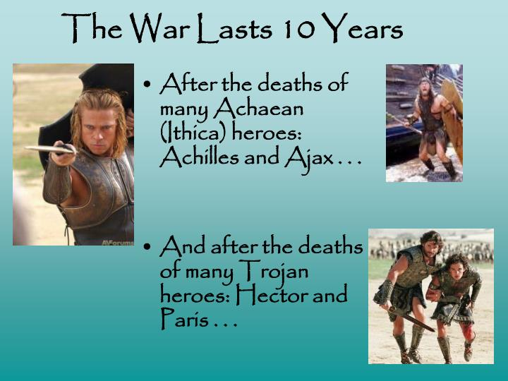 The War Lasts 10 Years