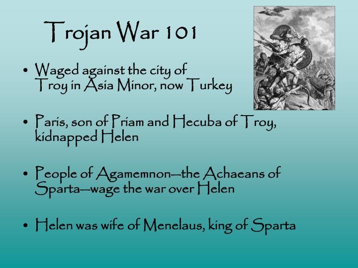 Trojan War 101