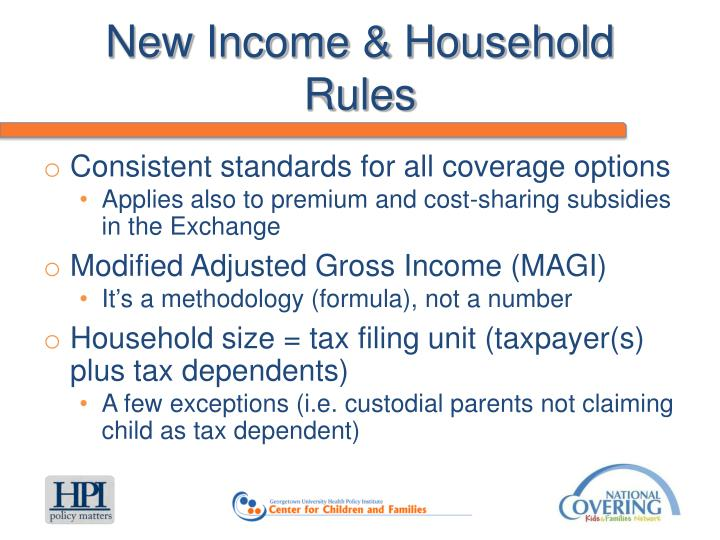 New Income & Household Rules