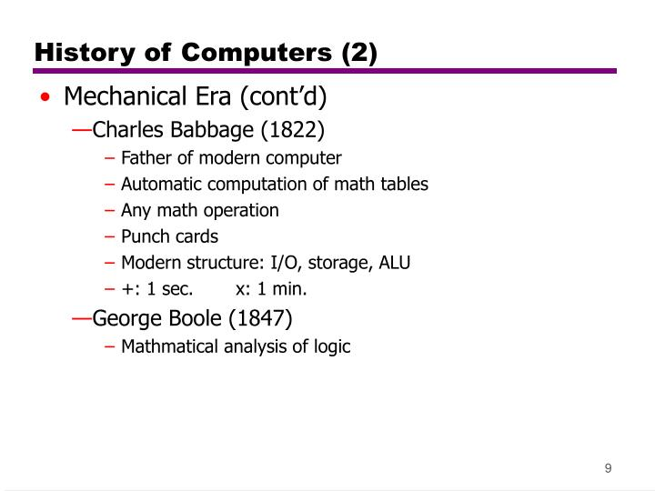 History of Computers (2)