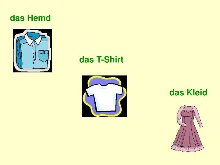 das Hemd