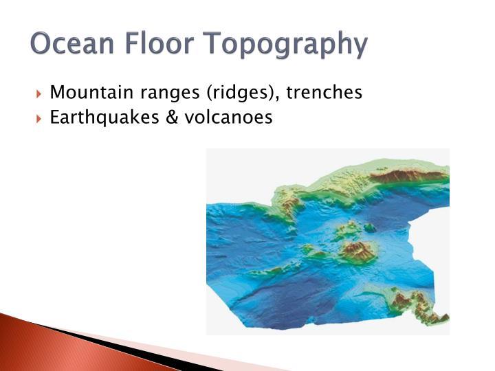Ocean Floor Topography