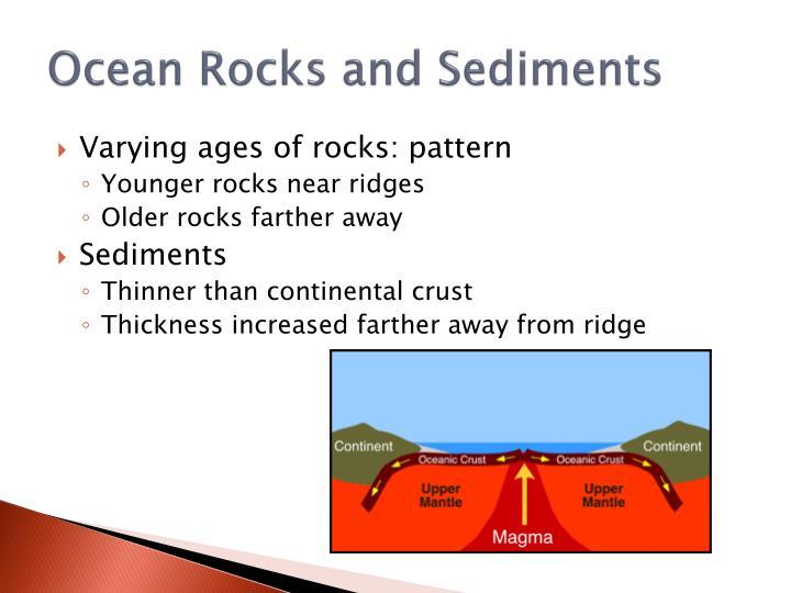 Ocean Rocks and Sediments