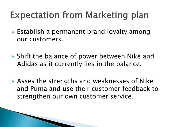 marketing plan of puma