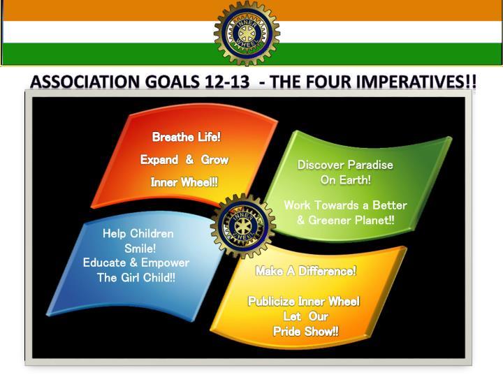 Association Goals 12-13  - The