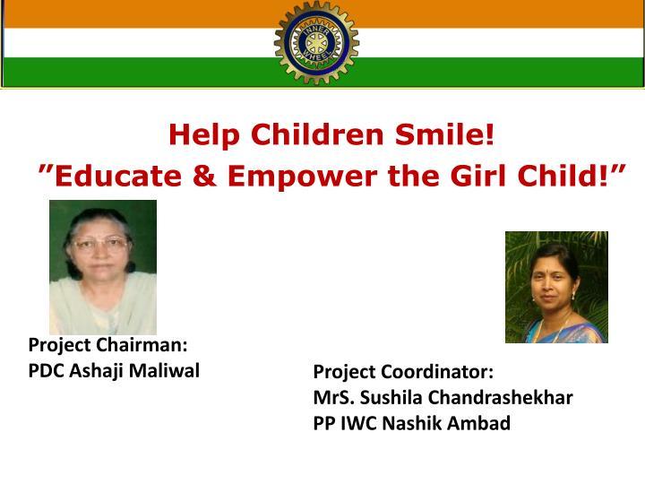 Help Children Smile!