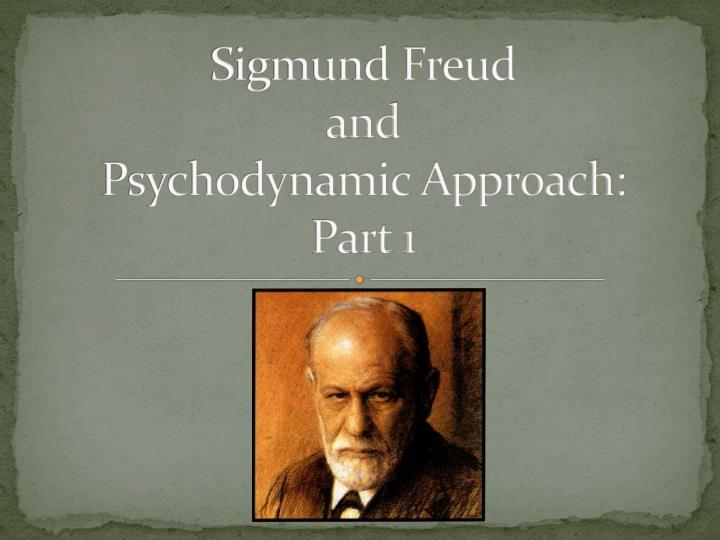 concepts used by freud for psychodynamic