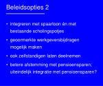 beleidsopties 2