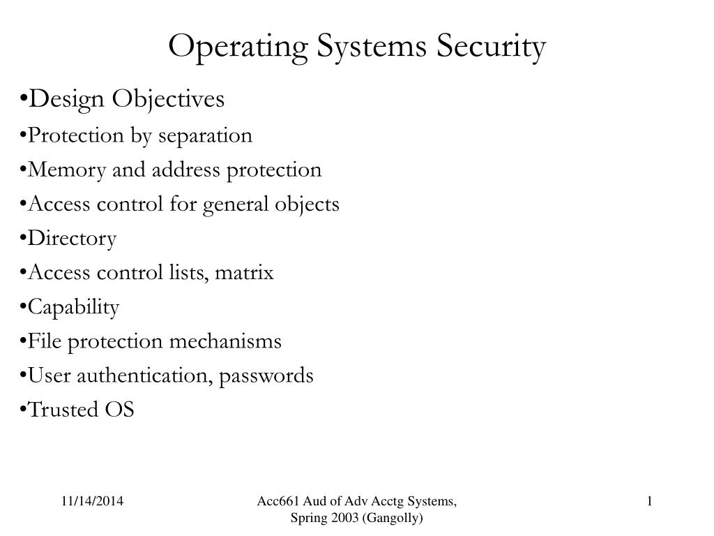 Ppt Operating Systems Security Powerpoint Presentation Id 6588549