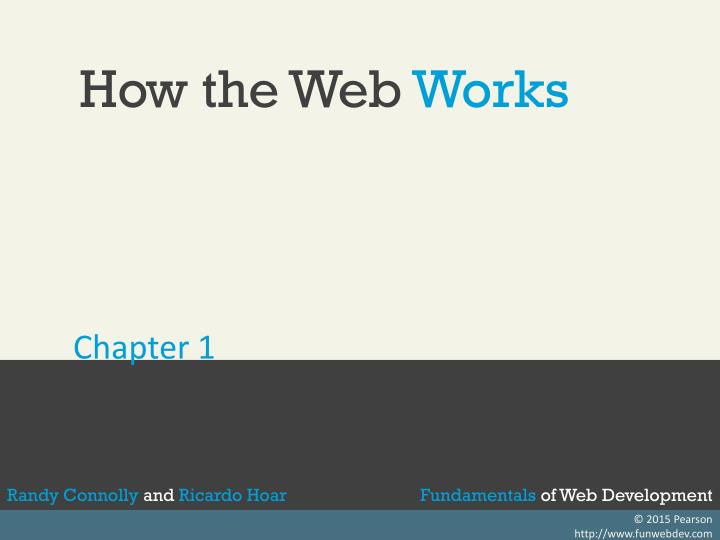 how the web works n.