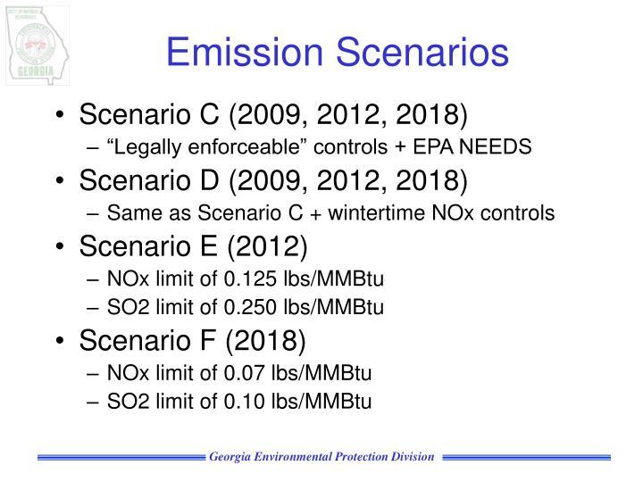 Emission Scenarios