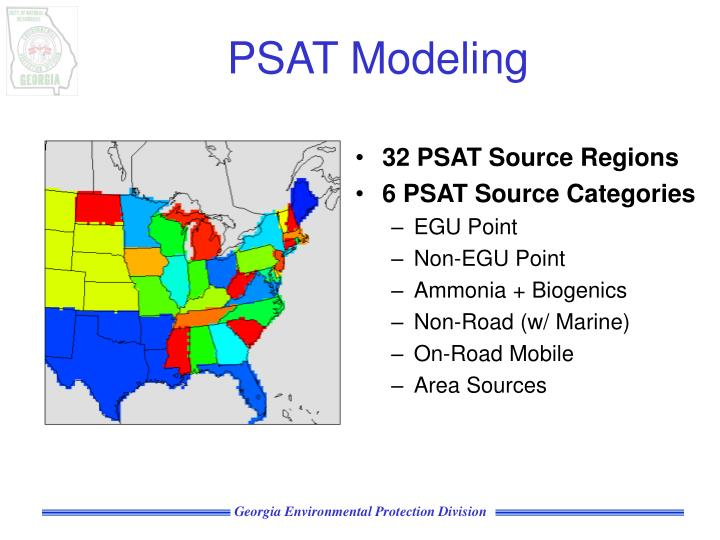 32 PSAT Source Regions