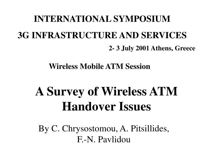 A survey of wireless atm handover issues