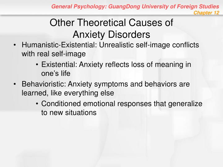 Other Theoretical Causes of
