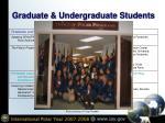 graduate undergraduate students