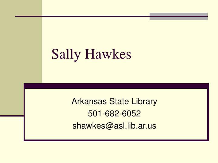 Sally Hawkes