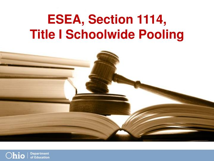 ESEA, Section 1114,