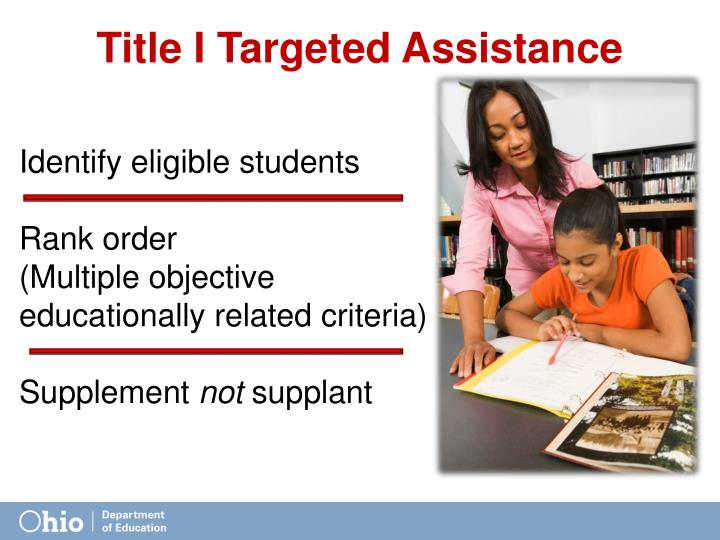 Title I Targeted Assistance
