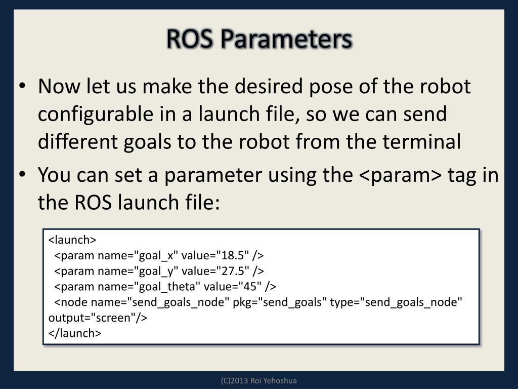 PPT - ROS - Lesson 7 PowerPoint Presentation - ID:6589320