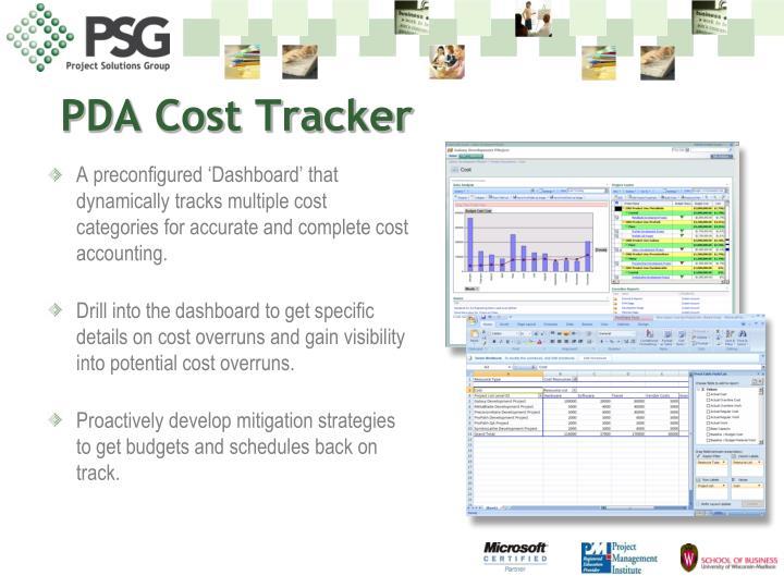 PDA Cost Tracker
