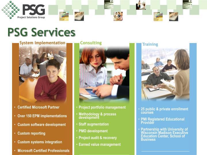 Psg services