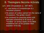 b theologians become activists13