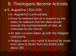 b theologians become activists31
