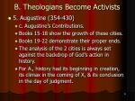 b theologians become activists43
