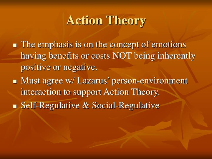Action Theory