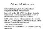 critical infrastructure1