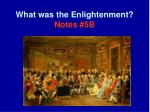 what was the enlightenment notes 5b