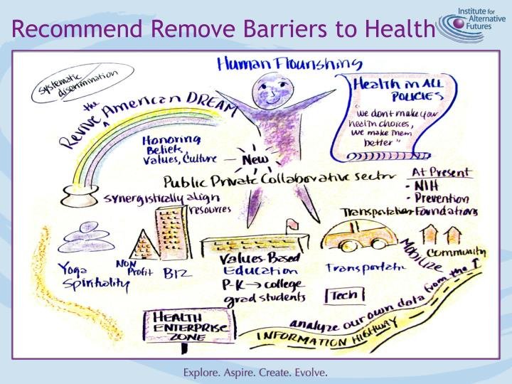 Recommend Remove Barriers to Health
