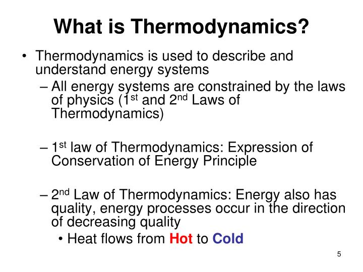 What is Thermodynamics?