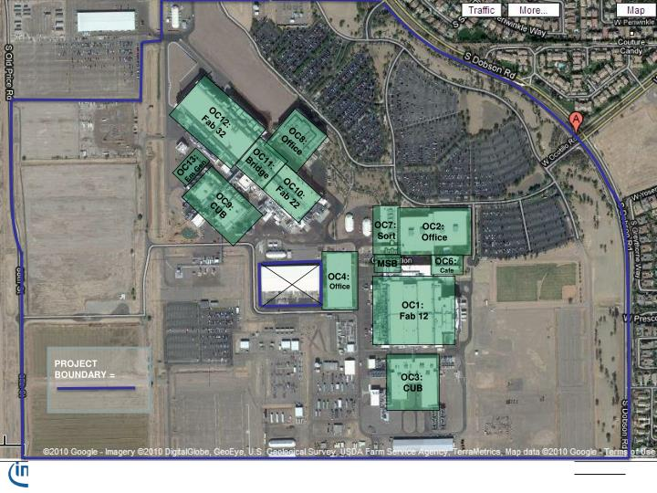 Intel Campus Map.Ppt Intel Ocotillo Campus Leed For Existing Buildings O M Silver