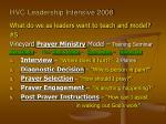 hvc leadership intensive 200811
