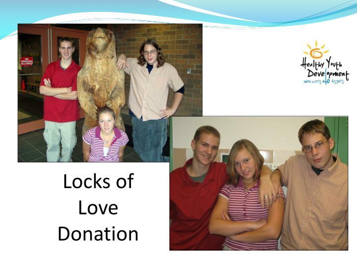 Locks of Love Donation
