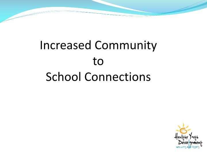 Increased Community