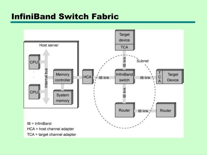 InfiniBand Switch Fabric