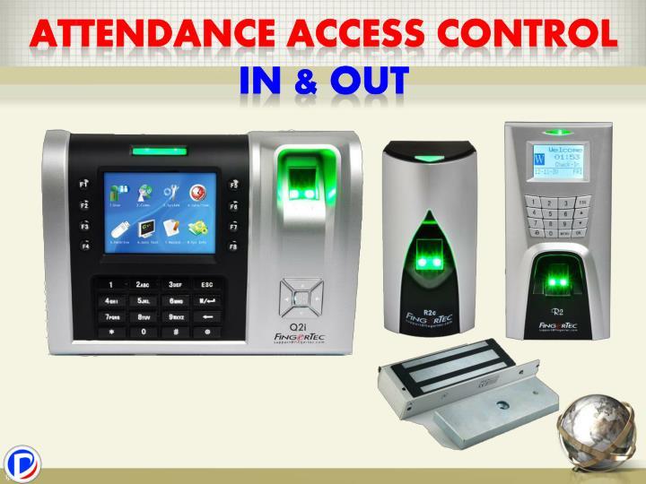 Attendance access control